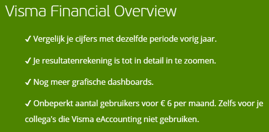 financial overview visma
